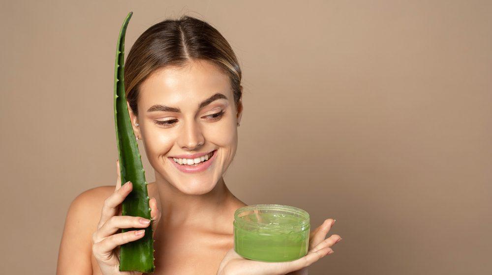 Jednoduchá domáca kozmetika z Aloe vera